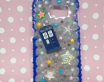 Dr Who Samsung galaxy S6 case stars bowties