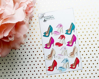Fashion and Heels Planner Stickers