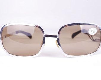 METALFLEX  / Vintage 70's Sunglasses / NOS / Hand Made in Italy     art. 149