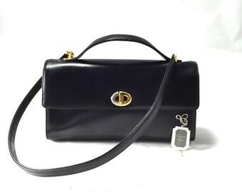 Vintage Christian Dior Leather Bag