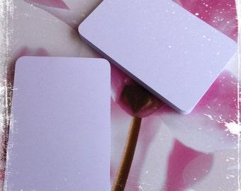 PL 4 x 6 journal cards White cards blanks 50 PCs