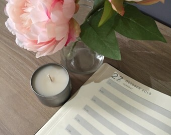 Soy Wax Traveller Tin Candle