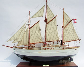 "32"" Maud Model Ship - Expedition to the Arctic"