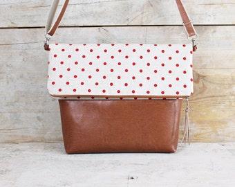 "Foldover bag ""DAISY LOU"""