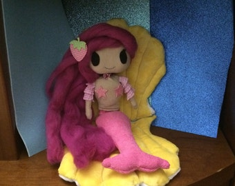 Little Mermaid plush