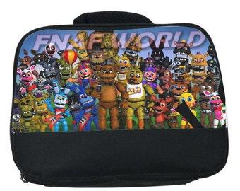 Five nights at Freddy's canvas lunch bag (FREDDY WORLD)