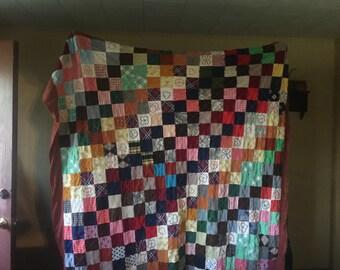 Handmade  quilt   6' x 5'