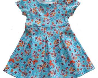 PIA dress pattern, sizes 110-158 (5-12yr)