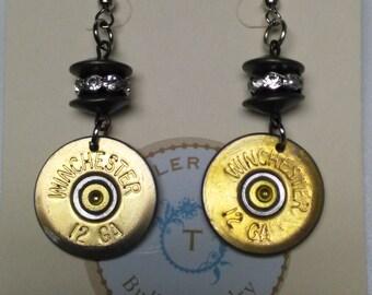 12ga Disk Earrings
