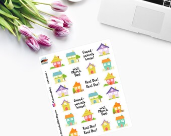LITTLE HOUSES Planner Stickers CAM00080-1
