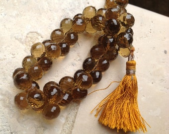 SALE! Store Wide 40% OFF!!! 1/2 Strand Cognac Quartz Faceted Onion Briolettes