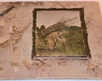 Led Zeppelin IV (Runes) LP Vinyl Record Album