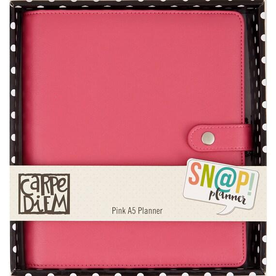Pink Carpe Diem Planner By Simple Stories A5 By