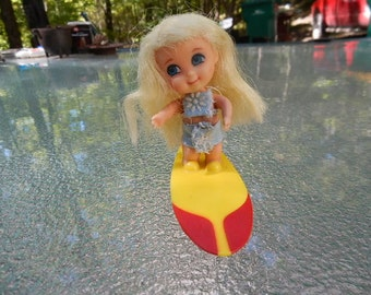 Liddle Kiddles Surfy Doll with Surfboard 1967