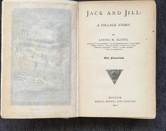 Vintage Copy of Jack and Jill (Alcott) 1914