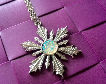 Necklace snowflake Anna Frozen - Once upon a time