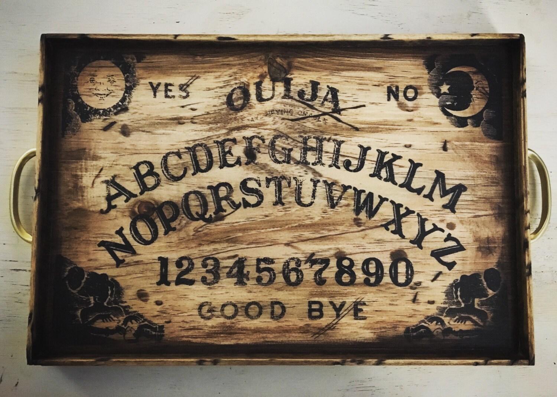Ouija Board Coffee Table Black Ouija Board Etsy