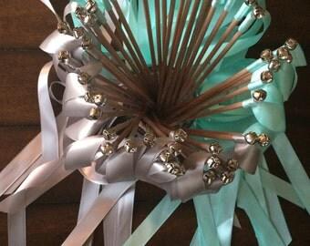 50 Wedding Ribbon Wands