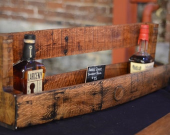 Barrel Stave Bourbon Shelf