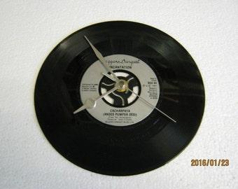 "Incantation - ""Cacharpaya"" Vinyl Record Wall Clock"