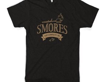 Smores You Complete Me Women's Cotton T-Shirt