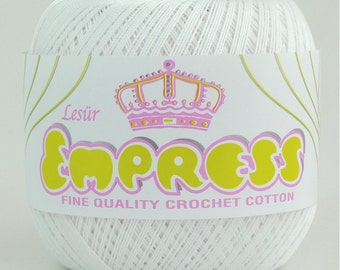 Empress Mercerised Crochet Cotton/Yarn No.10