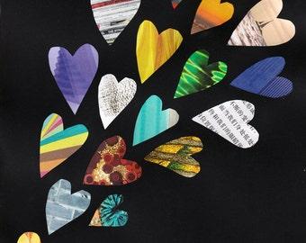 Dragon Fruit Project PRINT Self Love Hearts Art Queer LGBTQ Asian Pacific Islander Identity Activism