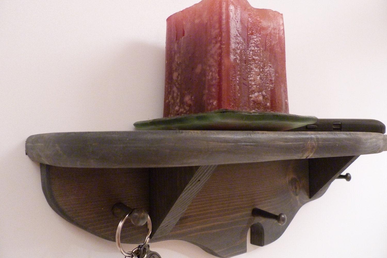 key holder shelf key rack entryway shelf antique grey. Black Bedroom Furniture Sets. Home Design Ideas