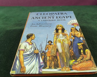 Vintage Ladybird book series 561 Cleopatra and ancient Egypt marked  price 2'6