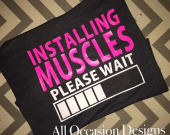 Loading Muscles Workout Tank (NOT FITTED)