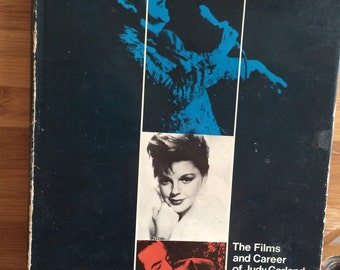 Judy Garland - 1960s Film Book - First Edition book -Gay Present - Joe Morella  - wizard of oz - a star is born - meet me in st louis
