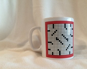 Popular Puzzles crossword mug