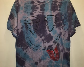 Diamond Eyes. Grunge Tie-Dye Tee
