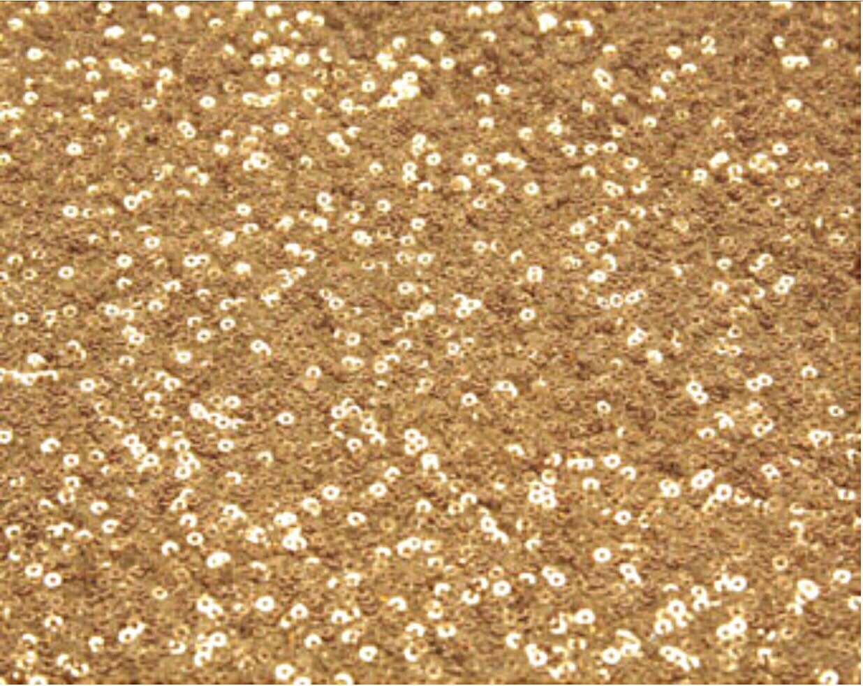 Gold Champagne Or Rose Gold Sequin Fabric By The Yard 3