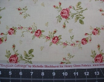 English Cottage by Michelle Blackhurst for Henry Glass Fabrics By-the-yard