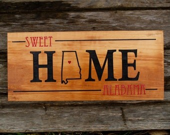 Tennessee Sign Home Sweet Home to Me Personalized
