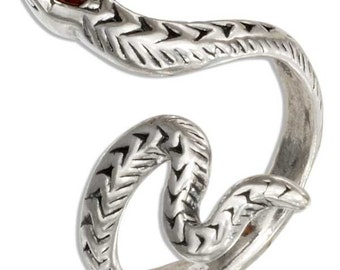 Sterling Silver snake ring sizes 5-9