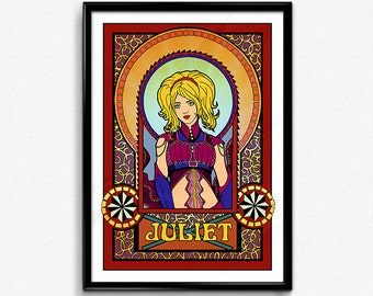 Juliet Starling - Lollipop Chainsaw // Digital Poster, Lollipop Chainsaw Juliet, Juliet Lollipop Chainsaw, Lollipop Chainsaw Poster