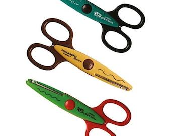 Fiskars Kidzors Scissor Pack x3 - Swamp Animals,
