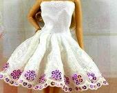 Modest Barbie Clothes, EASTER Barbie Dress, Barbie Shoes, Passover Barbie Dress, Girls EASTER Gift, Barbie Ballgown, Girls PASSOVER Gift