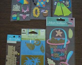 beach scrapbooking embellishments