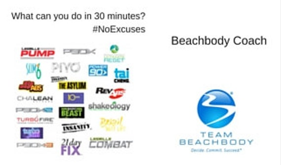 Beachbody Business Card Beachbody Beachbody by