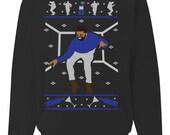 1 800 Hotline Bling Ugly Christmas Sweater Sweatshirt Design