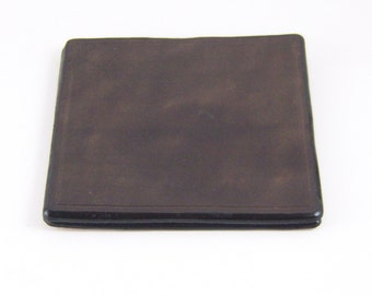 Square Genuine leather coaster