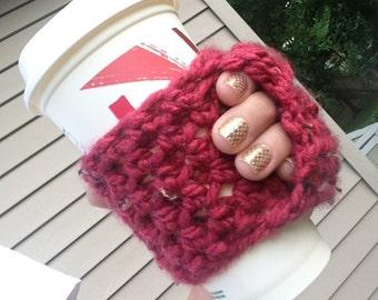 Coffee Cozy | Crochet Coffee Cozy |  Coffee Sleeve