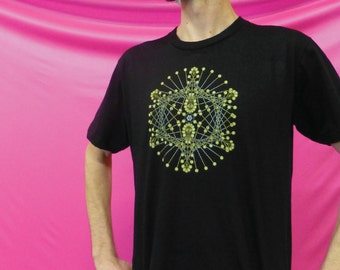 Tech Poi Mandala - 100% Ring-Spun Cotton Shirt - Made in USA