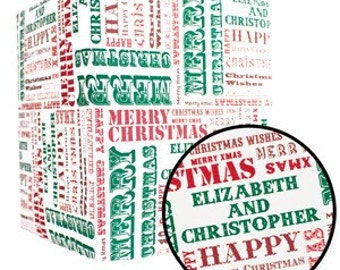 Personalized Custom Gift Wrapping Paper Great For the Holidays!