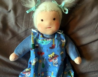 Waldorf Cuddle/Sleep Sack Doll Miss Mouse