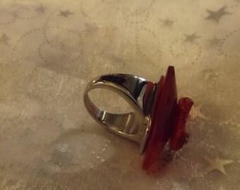 oz ruby slipper ring.