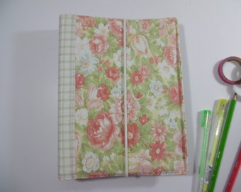 Fabric Covered 3 Ring Binder /Planner/ Personal Organizer/ Journal/ A5 size